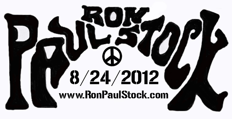 New Ron PaulStock Tee Graphic